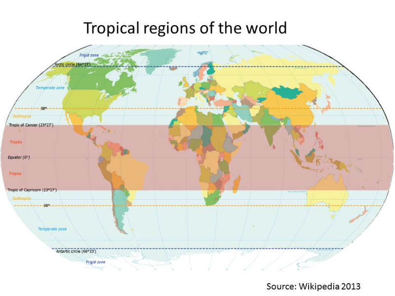 world-tropical-regions