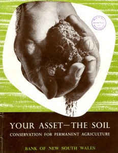 This booklet published in 1957 demonstrated that planting saltbush in a grid on a claypan can eventually lead to full revegetation. It was a message that went missing for another 40 years.