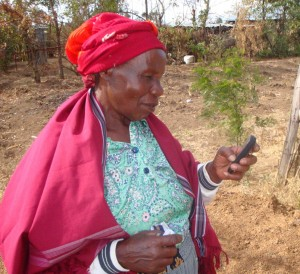 The rise of community radio stations across Africa, combined with the mobile phone revolution, has the potential to transform the extension and advisory sector. Photo: ILRI/IBLI Project.