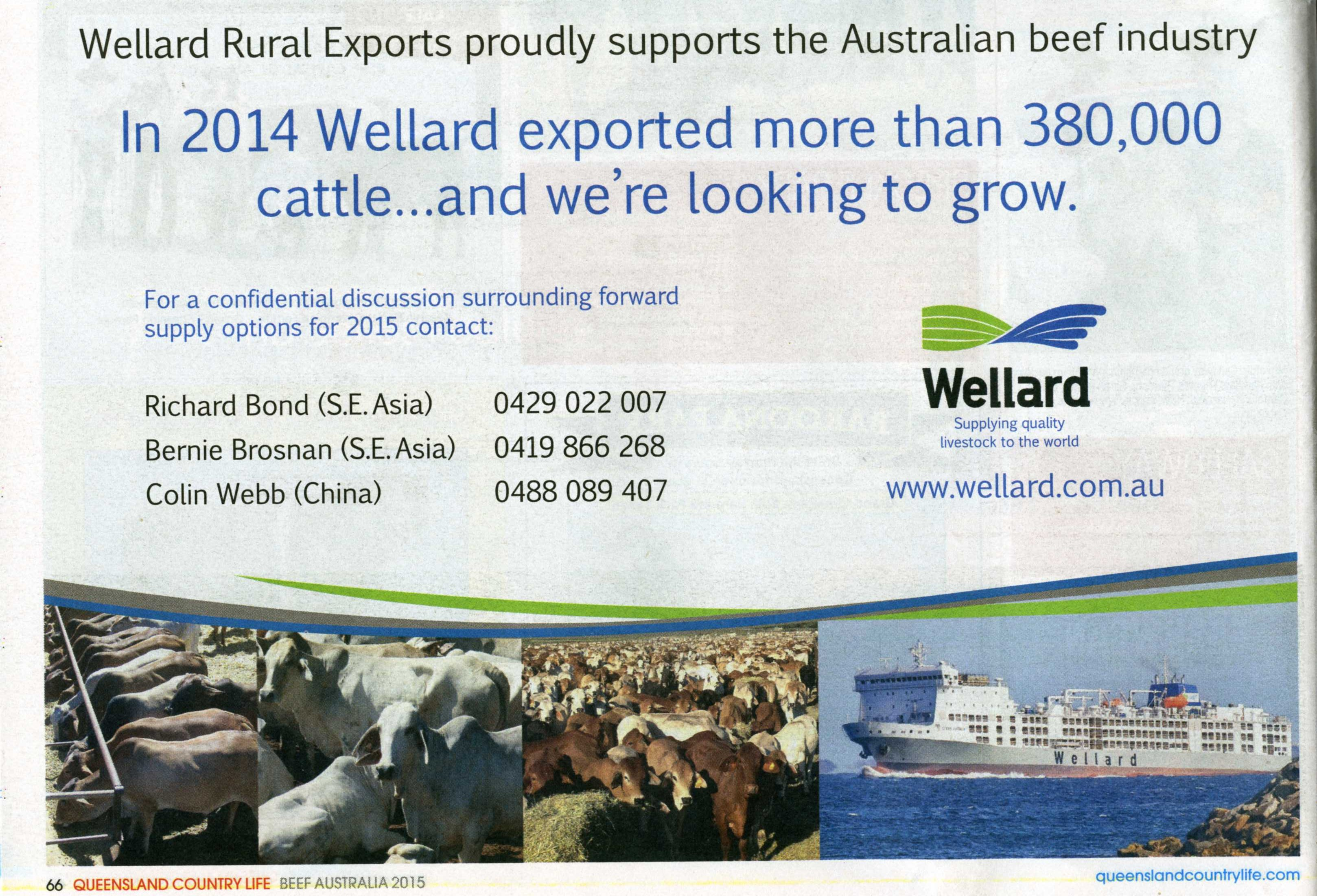 Live exporter advert QCL 515