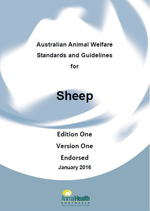 Animal welfare standards and guidelines for sheep 2016